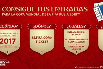 FIFA inicia la venta de entradas