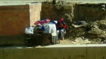 Rescatan a niño que vivía en casa de can
