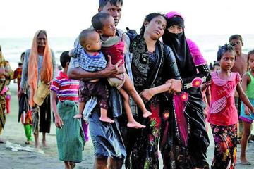 Los rohinyás en Bangladesh dicen que carecen de ayuda