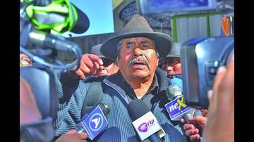 Felipe Quispe es denunciado ante la Fiscalía por secuestro
