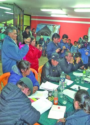 Concejo aprueba presupuesto  de 328 millones de Bolivianos