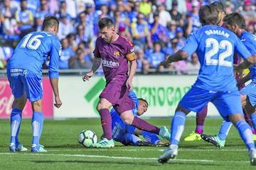 Barcelona logra un triunfo ante Getafe