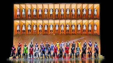 NBA y Nike presentan uniformes