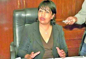 Envían a la cárcel de Palmasola a la exdirectora nacional de Dircabi