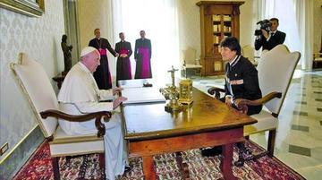 Evo y el Papa se reunirán el 15 de diciembre en El Vaticano