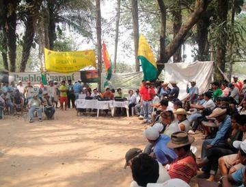 Indígenas de La Paz y el Tipnis pactan defensa de sus territorios