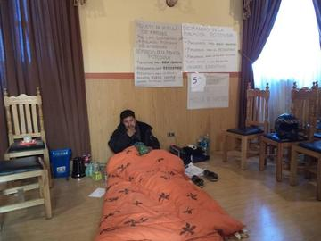 Concejal Eloy Relos mantiene huelga de hambre