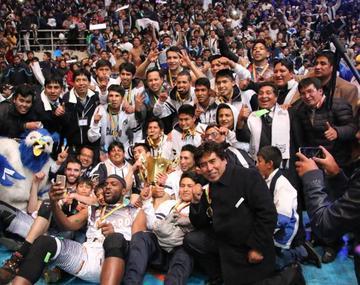 Reconocen al campeón boliviano de básquet