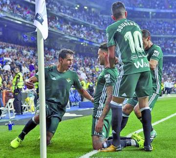 Real Betis frena en seco a Real Madrid