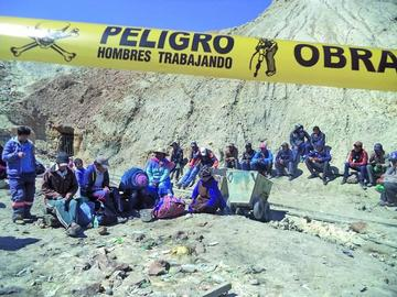 Cooperativas e instituciones se unen para rescatar a los mineros