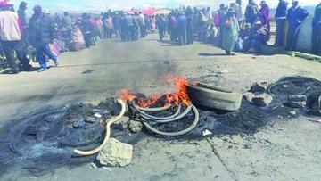 Inician proceso contra dirigentes de Achacachi por daños a una vía