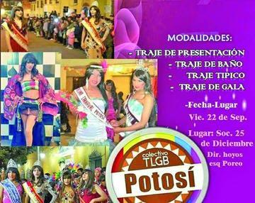 Esta noche será el acto de elección  de la Belleza Transformista Potosí