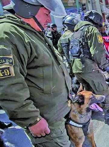 Policía espera orden fiscal para detener a dirigentes de Achacachi