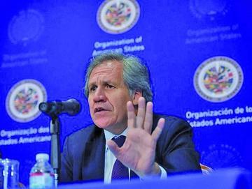 Secretario de OEA pide a Morales respete voto del No a la reelección