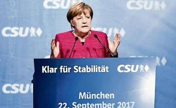 Merkel aspira a mantener la ventaja en elecciones por un cuarto mandato