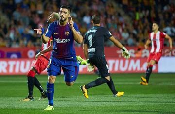 Barcelona vence a Girona en la Liga Santander