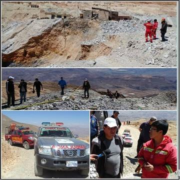 Inician plan para rescate de los desaparecidos en el Cerro Rico