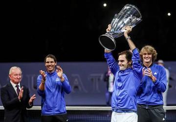 Federer conquista para Europa la Copa Laver
