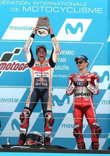 Marc Márquez gana el Gran Premio de Aragón de MotoGP