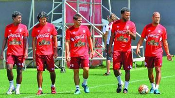Perú se alista para las eliminatorias