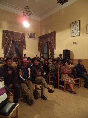Aprueban convenio para obras del fondo indígena para Potosí
