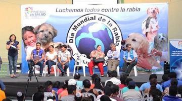 Salud declara alerta sanitaria en todo el país por rabia canina