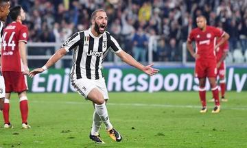 Higuaín llega a tiempo para darle el triunfo a Juventus