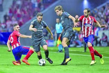El Atlético vive su peor arranque de Champions
