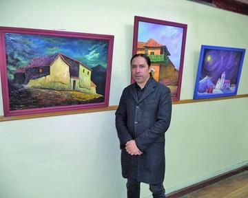Cierra exposición pictórica del potosino Pablo Corso