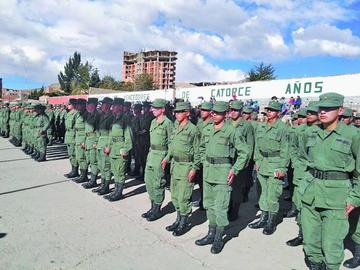 Licencian a 450 premilitares luego de un año de instrucción