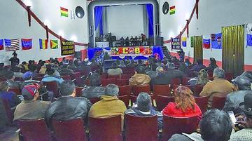 COB confirma ampliado en Potosí para analizar la repostulación de Evo