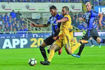 Juventus empata 2-2 contra Atalanta
