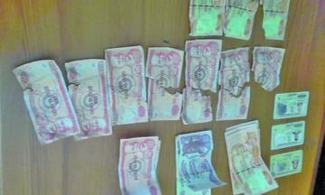Pareja de esposos es enviada a la cárcel por posesión de billetes falsos