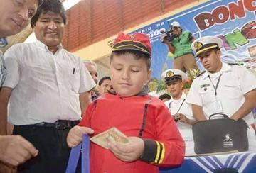 Bono Juancito Pinto se paga desde este 23 de octubre