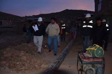 El sistema de bombeo La Palca a Potosí se inicia en noviembre