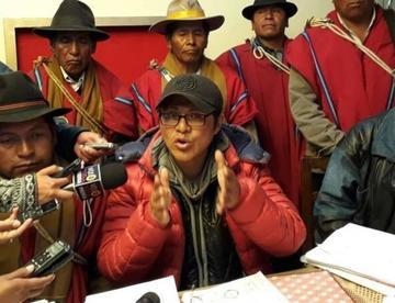 Achacachi: detienen por secuestro de un Poncho Rojo a dos dirigentes