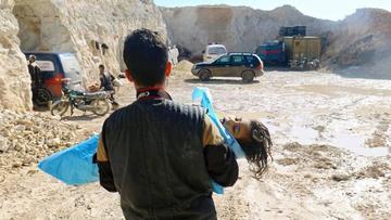 Alertan que el gobierno sirio usó gas químico en contra de una localidad