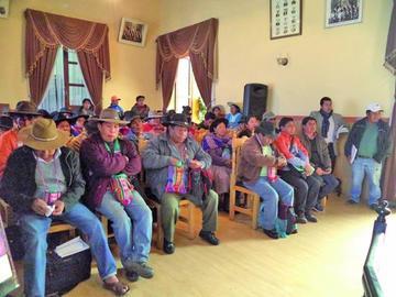 Aprueban la ley de creación de distritos municipales en Potosí