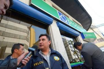 Fiscalía inspecciona el Banco Prodem en La Paz tras detectar robo