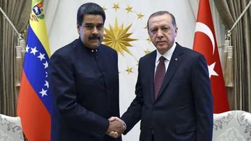 """Maduro y Erdogan acuerdan una """"nueva era"""" en las relaciones"""