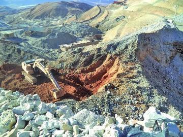 Declaran cuarto intermedio en el trabajo de rescate en el Cerro Rico