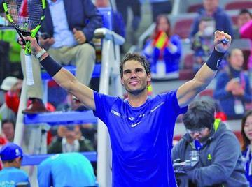 Rafael Nadal se venga de Dimitrov y alcanza la final del Abierto de China