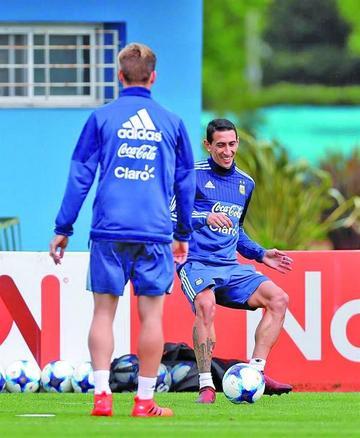Argentina afina su puntería
