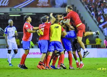Costa Rica clasifica al Mundial de Rusia