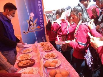 Alistan menú para alimento de alumnos para 2018