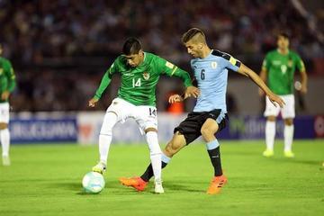 Bolivia cae goleada a manos de Uruguay