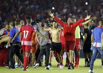 Panamá va al Mundial por primera vez