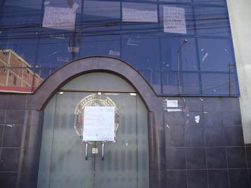 Bloquean el edificio de la carrera de Trabajo Social de la UATF