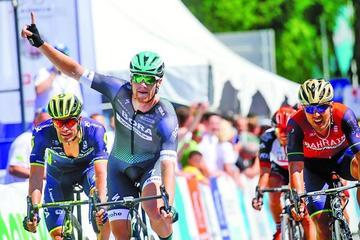 Bennett gana la segunda etapa de la Vuelta a Turquía