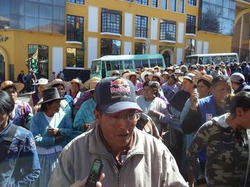 Los vecinos de Alto Potosí vuelven a protestar en la calle